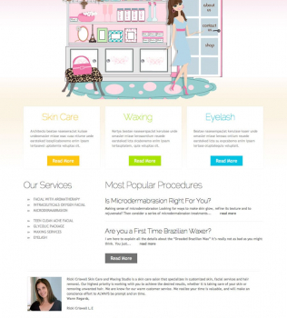 Client Recommendation – Ricki Criswell – Skin Care Salon Studio