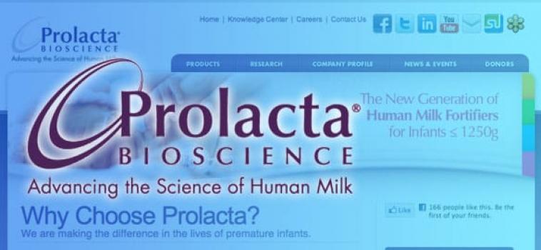 Prolacta Bioscience Endorsement