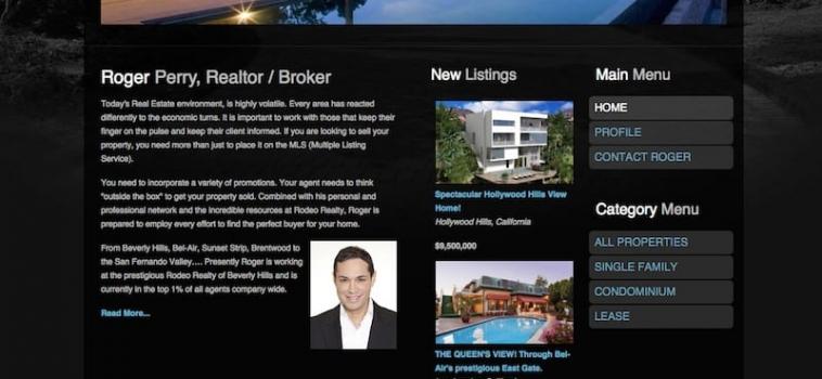Client Endorsement: Roger Perry – Realtor / Broker – Beverly Hills