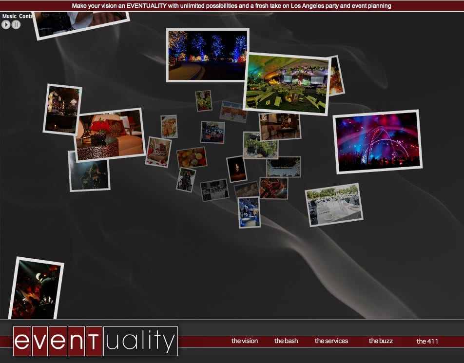 eventuality-event-production-web-design